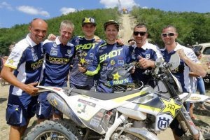 Rockstar Energy Husqvarna Factory Racing's Graham Jarvis