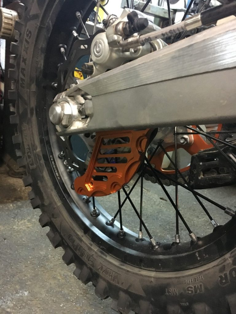 KTM EXC 2018 TPI Disc Guard Rear